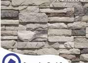 fachaletas, muro de fachaleta, fachaleta textura, piedra laja,