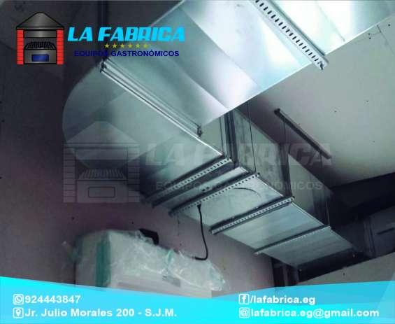 Ductos de aire acondicionado - la fábrica