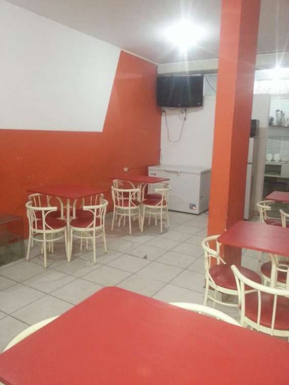 Restaurante amoblado super economico 800s/. smp