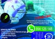 Limpieza de tanque de agua potable  cel:994126148 todo lima
