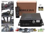 MDVR VEHICULAR DVR GRABADOR MOVIL 256GB CAMION BUS OMNIBUS AUTO