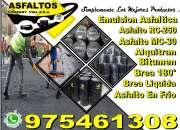 Venta de derivados  asfaltos y emulsiones a todo el peru llamenos a 975461308