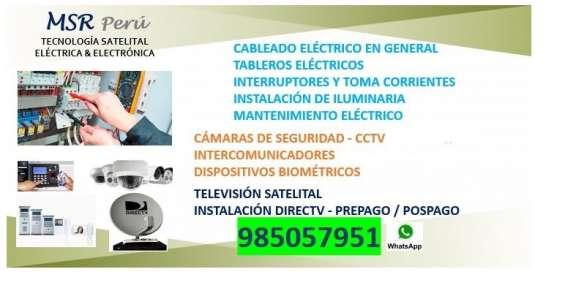 Técnico electrónico-electricista 985057951 lima-callao