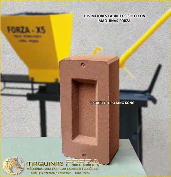 Máquinas ladrilleras para bloques-ladrillos ecológicos