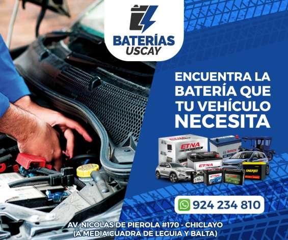 Baterias para camionetas