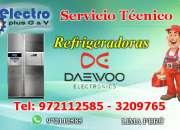 Servicio cercano, servicio tecnico de refrigeradoras daewoo, 972112585