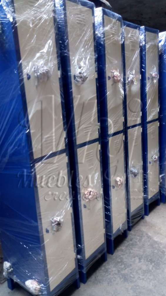 Lockers porta candado de 2 casilleros