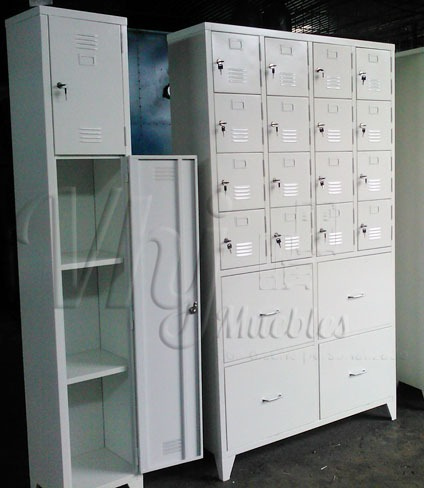 Lockers personalizados según requerimientos