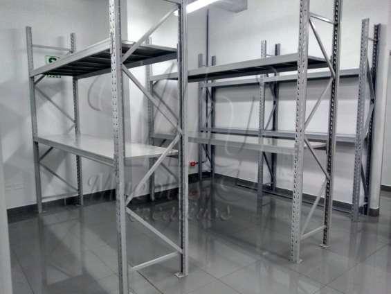 Racks para almacenes de cargas pesadas