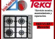 980141881 TEKA COCINAS VITROCERAMICAS MANTENIMIENTO SERVICIO TECNICO