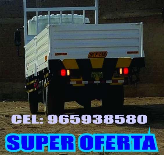 Baranda rebatible - camión 8 tm