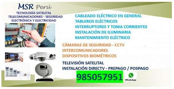 Técnico electricista 985057951 ventanilla, callao