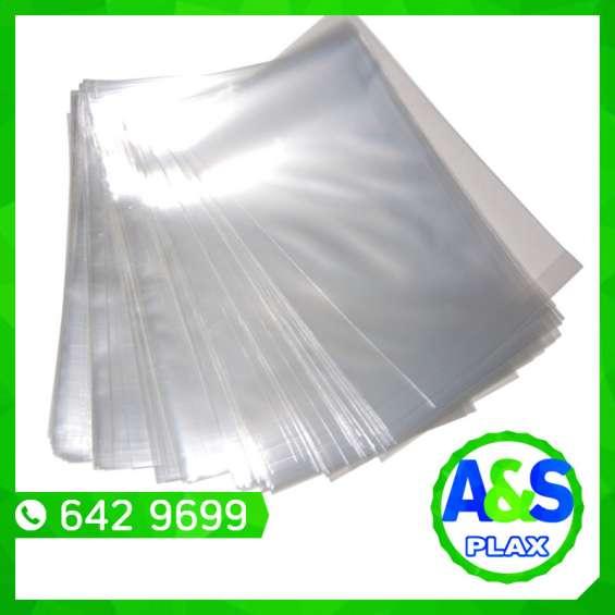 Bolsas con papel kraft - a&s plax