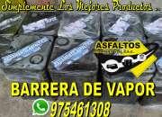 Venta de barrera de vapor - pegamento cotizaciones a 975461308