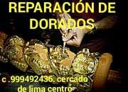 Dorador restaurador Marcos Muebles clasicos lima Perú