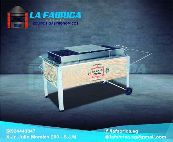 Cajas chinas modelos en madera y acero - la fábrica