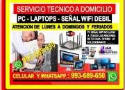 Tecnico de pc laptops cableados repetidores wifi …