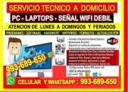 Servicio tecnico a internet wifi cableados a domi…
