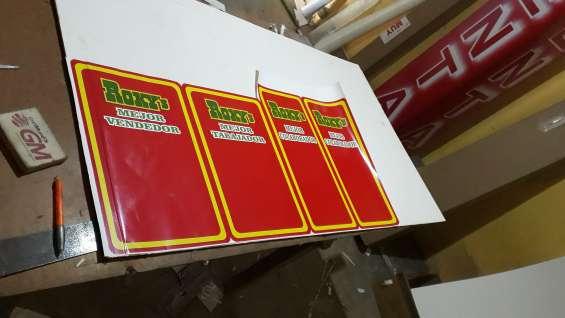 Producción,mantenimiento e instalación de rótulos