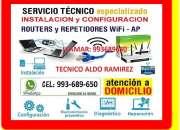 Tecnico de cableados repetidores wifi configuraci…