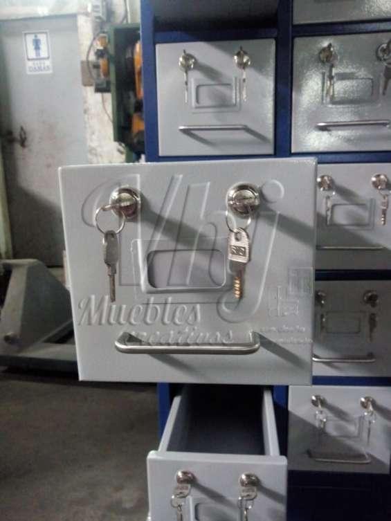 Mobiliario para herramientas de 50 cajones con chapa