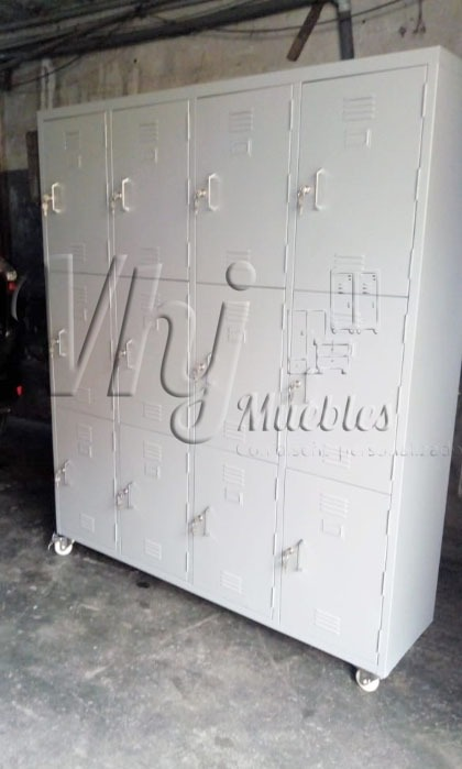 Lockers de 12 casilleros móvil