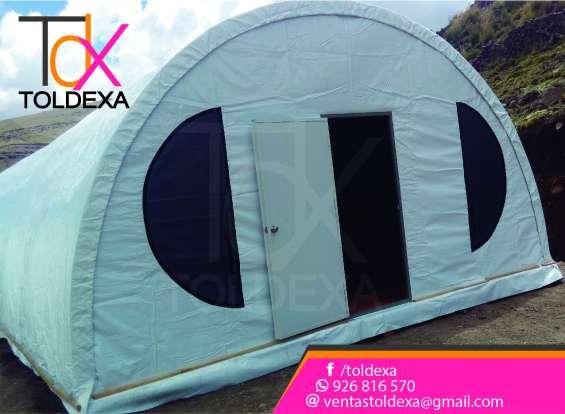 Toldos campamentos modelos iglu toldexa