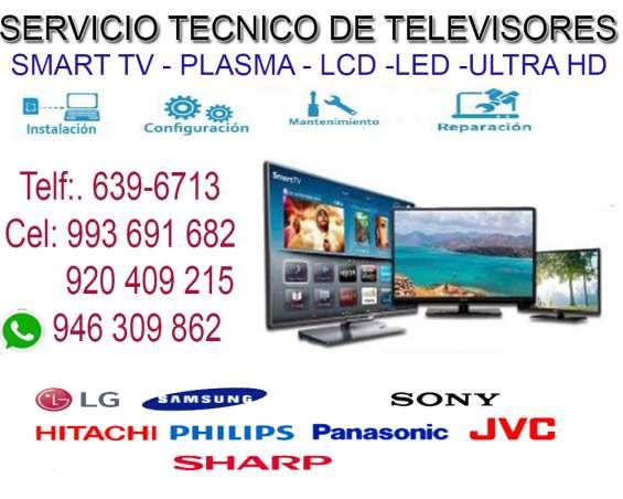 993691682 servicio técnico de televisores panasonic, sony, lg a domicilio