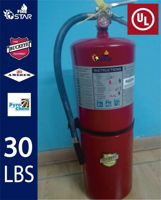 Venta y recarga de extintores americano con certificacion ul 974831598