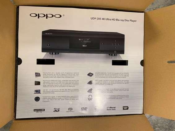 Nuevo reproductor de blu-ray oppo udp-205 4k