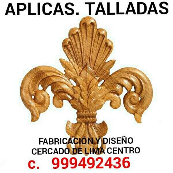 Aplicaciones de madera doradas y talladas fabricacion y diseño lima perú