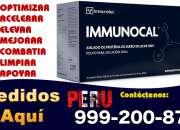 IMMUNOCAL PERU BOLIVIA ECUADOR TELF 999-200-870