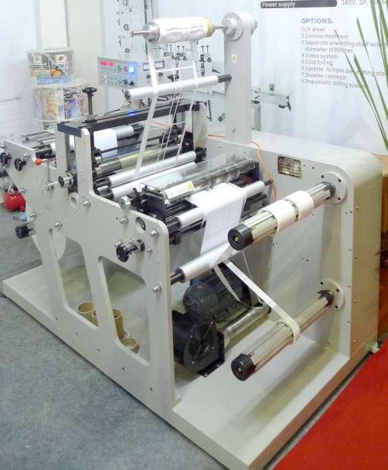 Maquina para fabricar etiquetas