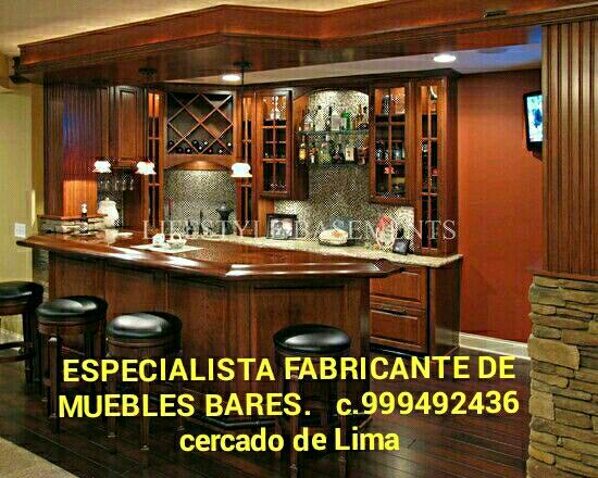 Bar mueble para hogar y negocios fabricación y diseño lima perú