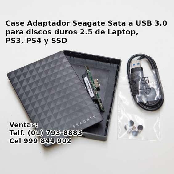 Case seagate para disco duro de ps4 ps3 ssd laptop