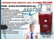 ORDENADORES ELECTRÓNICOS DE COLAS CON DISPENSADOR CARACOL