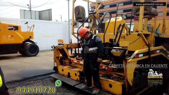 Venta de asfalto en frio x m3 y saco de 50 kilos buen precio