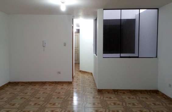 Bellavista remato dpto cuarto piso 92m2 $50mil, vista interior