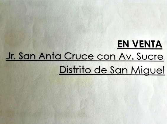 Fotos de San miguel vendo terreno+aires 1890m2 $1,400xm2, alt. cdra. 4 av. lima 2