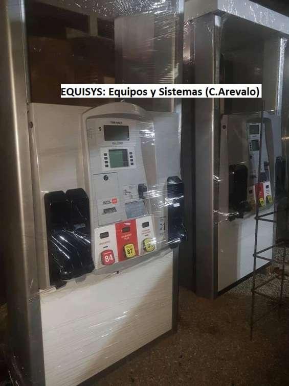 Vendo dispensadores surtidores de gasolina, diesel y glp, marca gilbarco, tokheim, wayne