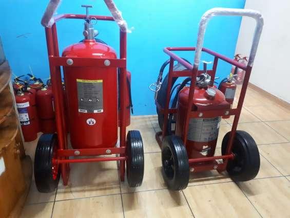 Extintores con certificacion ul - rodante americano