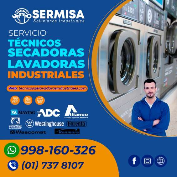 7378107 / seguro*técnicos de secadoras unimac/ san isidro