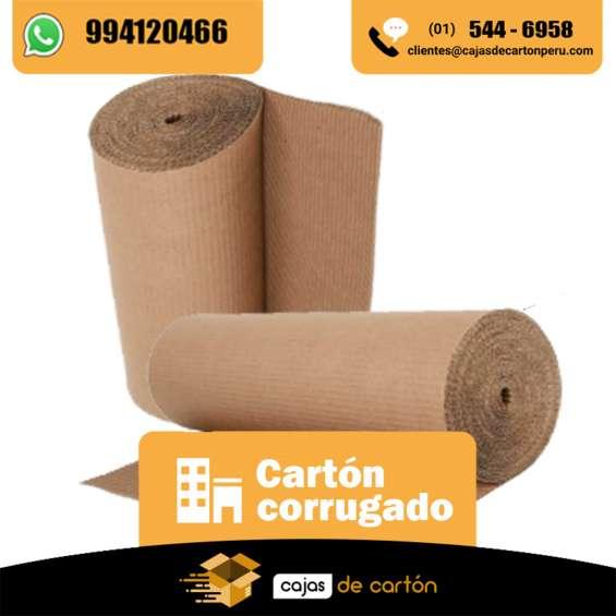 Venta de carton corrugado en rollo