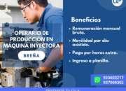 op. maquina inyectora-lima