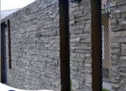 Fachaletas de concreto, piedras importadas, piedras lajas