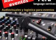 Alquiler equipo sonido eventos en lima / cel. 997163010